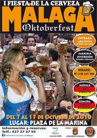 Oktoberfest Malaga Poster 2010