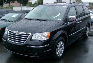 Chrysler Voyager hire in Malaga