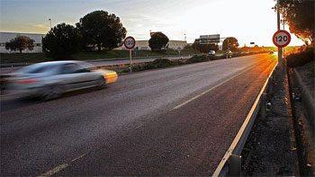 New Speed Limit: 110 km/h