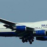 British Airways flight