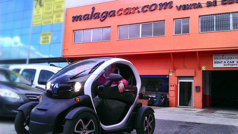 Renault Twizy in MalagaCar.com