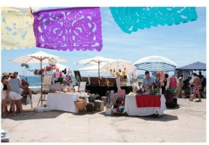 Street market Malaga Baños del Carmen