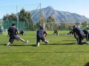 Training in Marbella