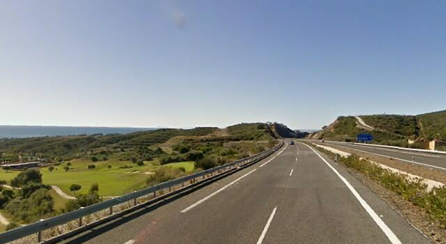 Driving in Malaga on teh AP-7 motorway