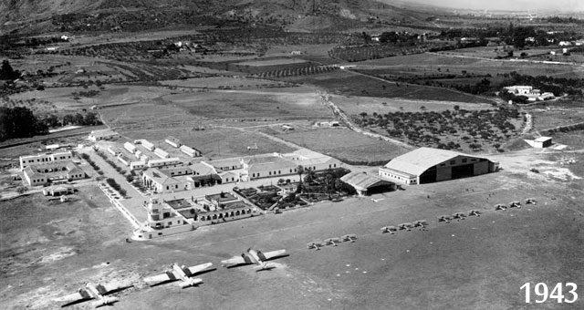 Malaga Airport (1943)