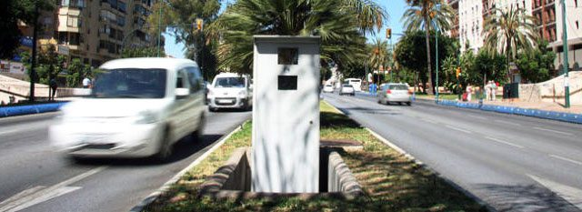 Map of Malaga Speed Cameras - Malagacar com