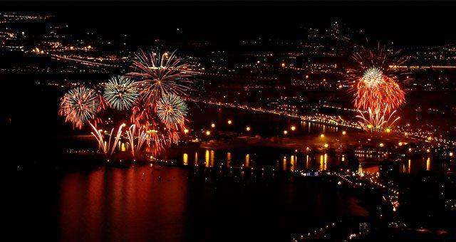 Malaga Port Fireworks