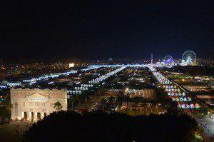 feria de noche Malaga