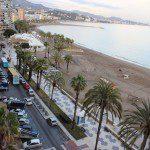 Sea promenade La Malagueta