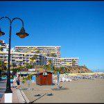Sea promenade Carihuela