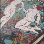Mural on the floor