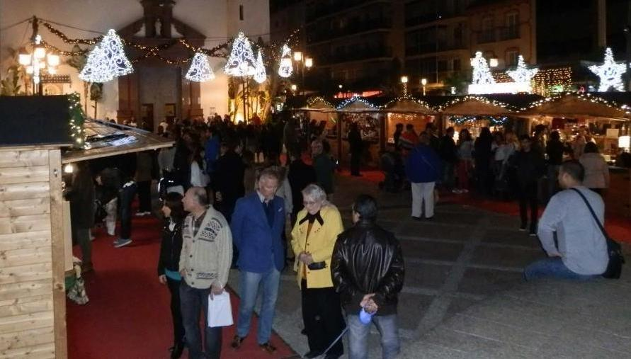 mercadillo navidad fuengirola