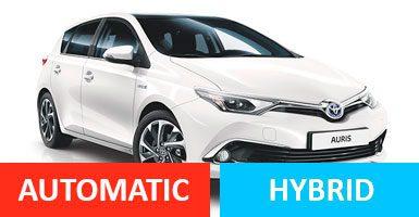 Group DG - Toyota Auris Hybrid