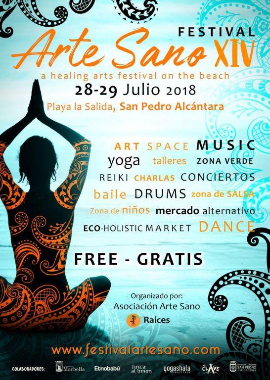 Arte Sano healing arts festival summer 2018