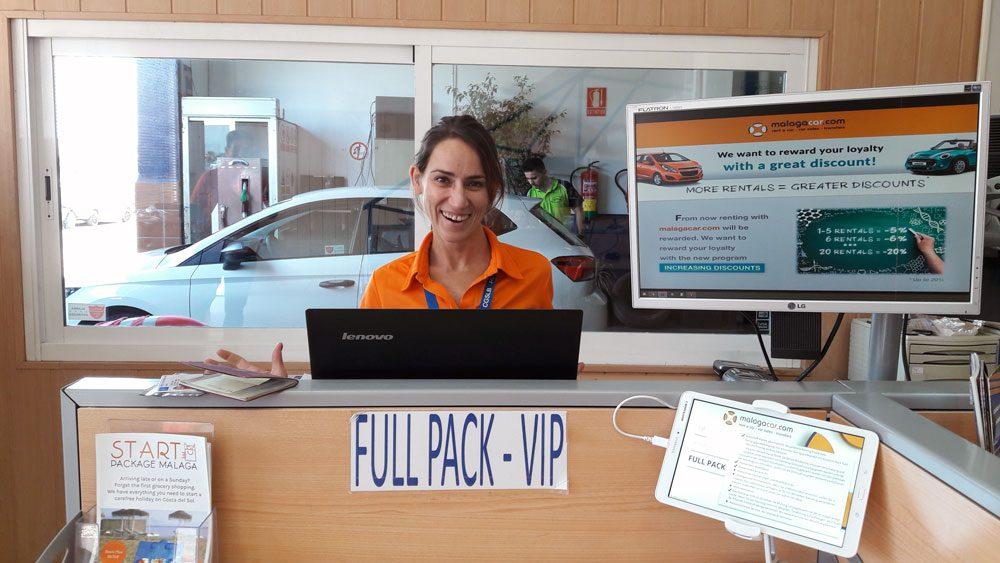 VIP Service Malagacar, Full pack