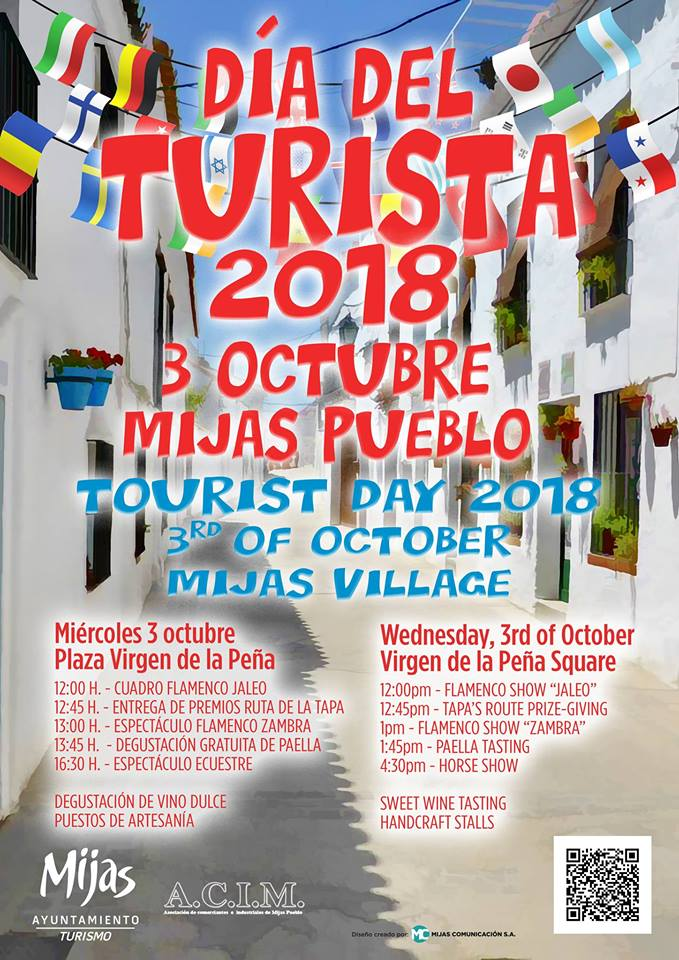 Tourist Day Mijas Pueblo 2018