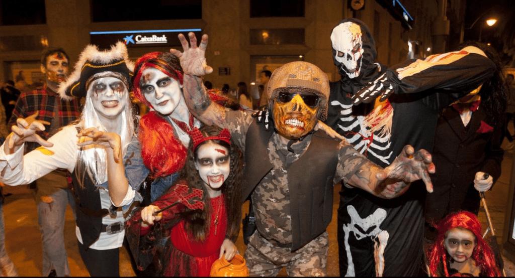 Halloween Malaga 2018