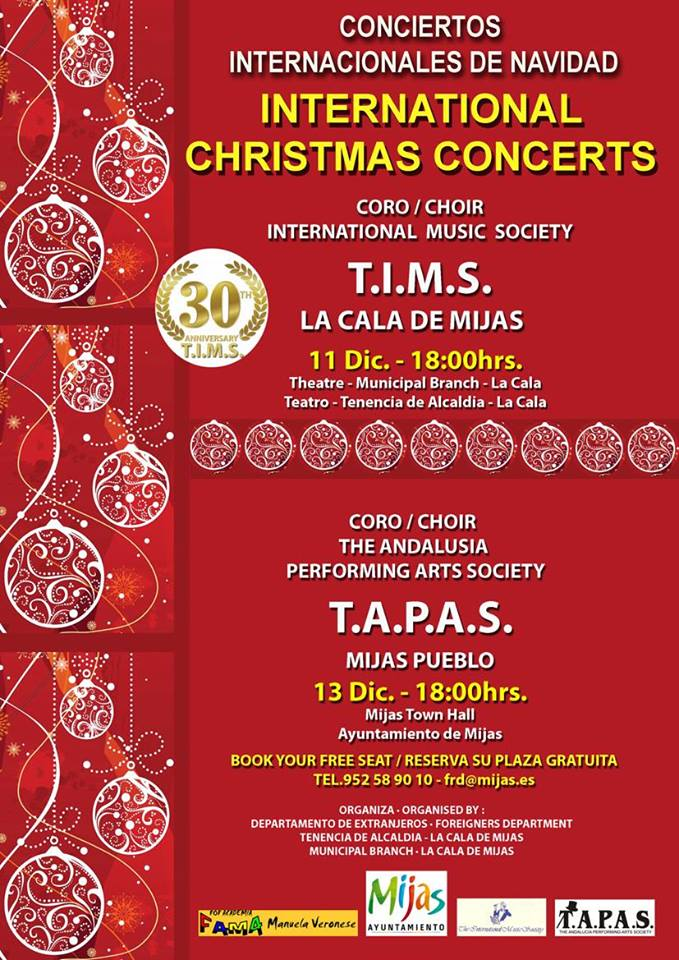 International Christmas Concert Mijas