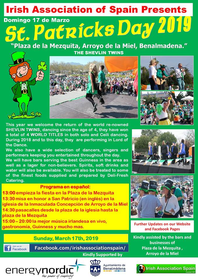 St. Patricks Day Benalmadena