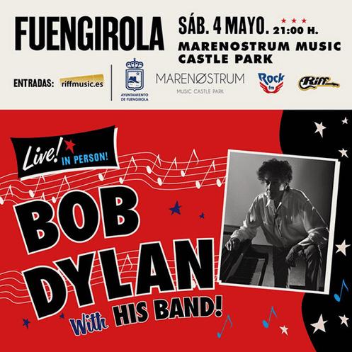 Bob Dylan Concert Fuengirola