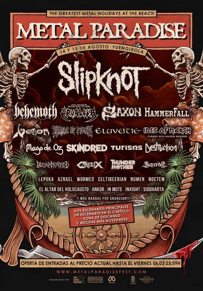 Metal Paradise Fest Marenostrum Fuengirola 2020