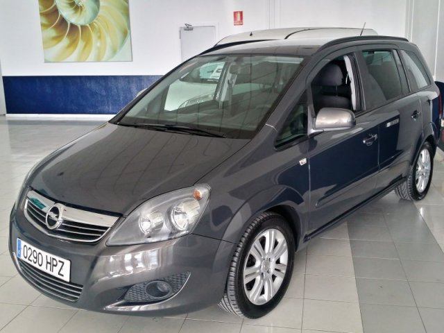 opel zafira 1 7 cdti 125 cv family 7 plazas manual 56359. Black Bedroom Furniture Sets. Home Design Ideas