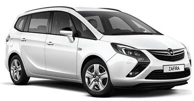 Opel Zafira 7 seater