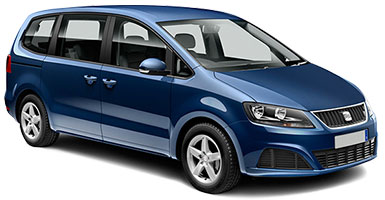 location de voitures malaga seat alhambra 7 seater ford galaxy 7 seater 7 places. Black Bedroom Furniture Sets. Home Design Ideas