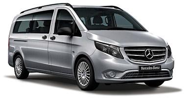 Mercedes Vito LONG-LARGA 9 seater