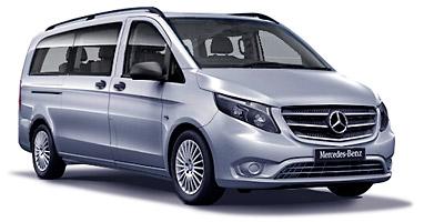 Mercedes Vito LONG-LARGA 9 seater AUTO