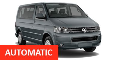 VW Transporter 9 seater Automatic