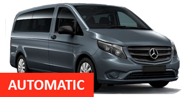 Mercedes Vito L 9 seater Automatic
