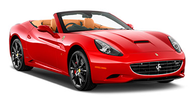 Car hire Malaga Ferrari California cabrio automatic 2 seater