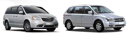 Minivan hire Malaga