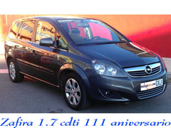 Opel Zafira 1.7 CDTi 111 years Photo