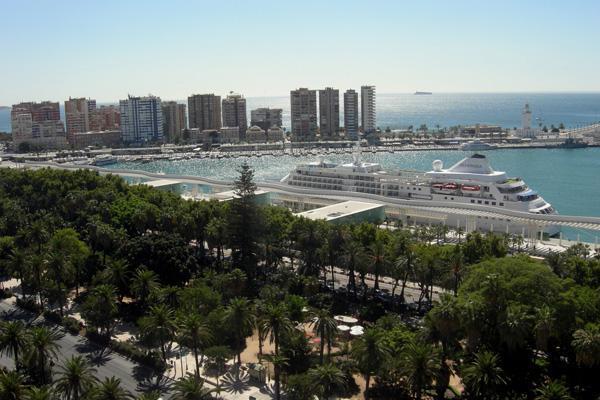 Hafen Málaga und Alameda Park