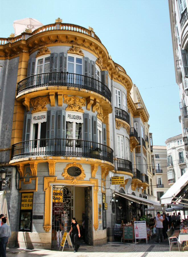 historic Malaga