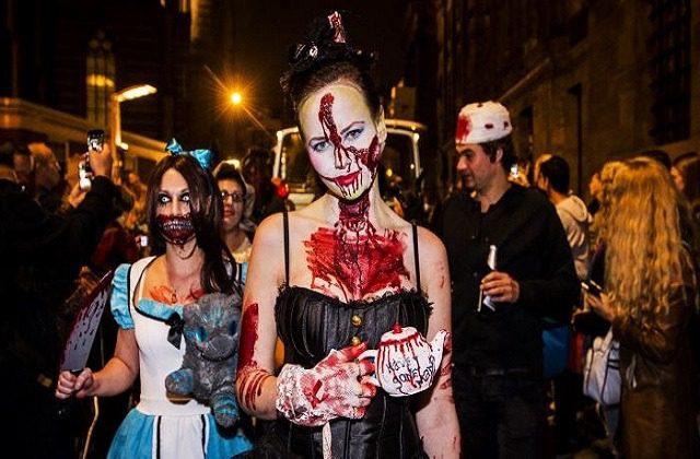 Halloween in Málaga