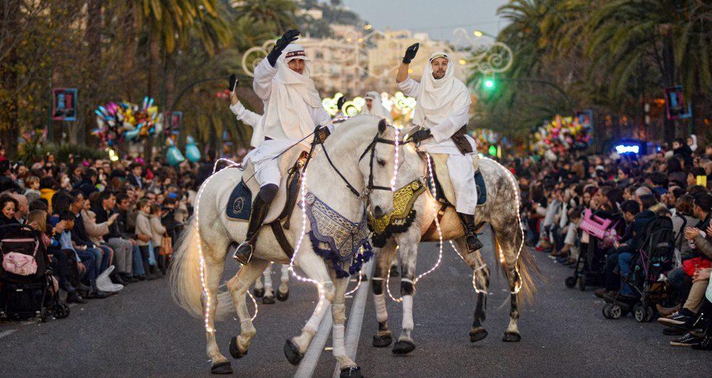 Umzüge der Heiligen Drei Könige in Málaga