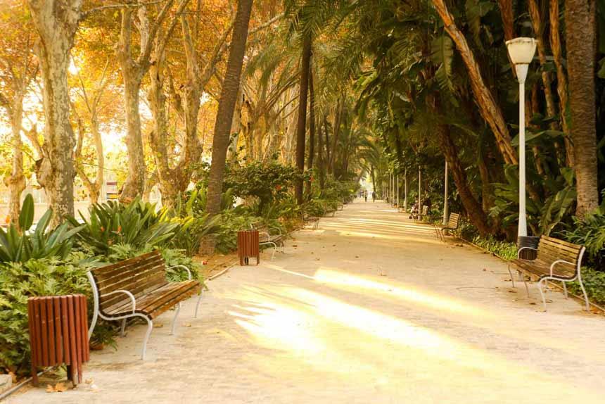 Parks in Málaga - Alameda