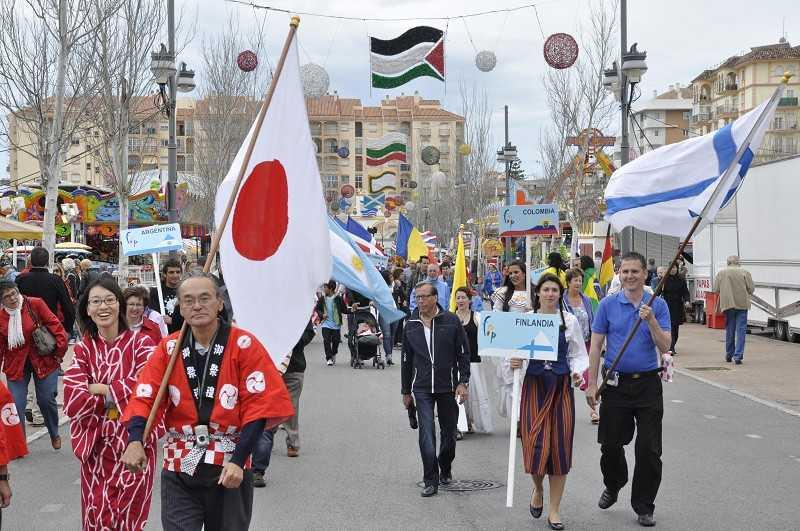 Internationales Völkerfest Fuengirola