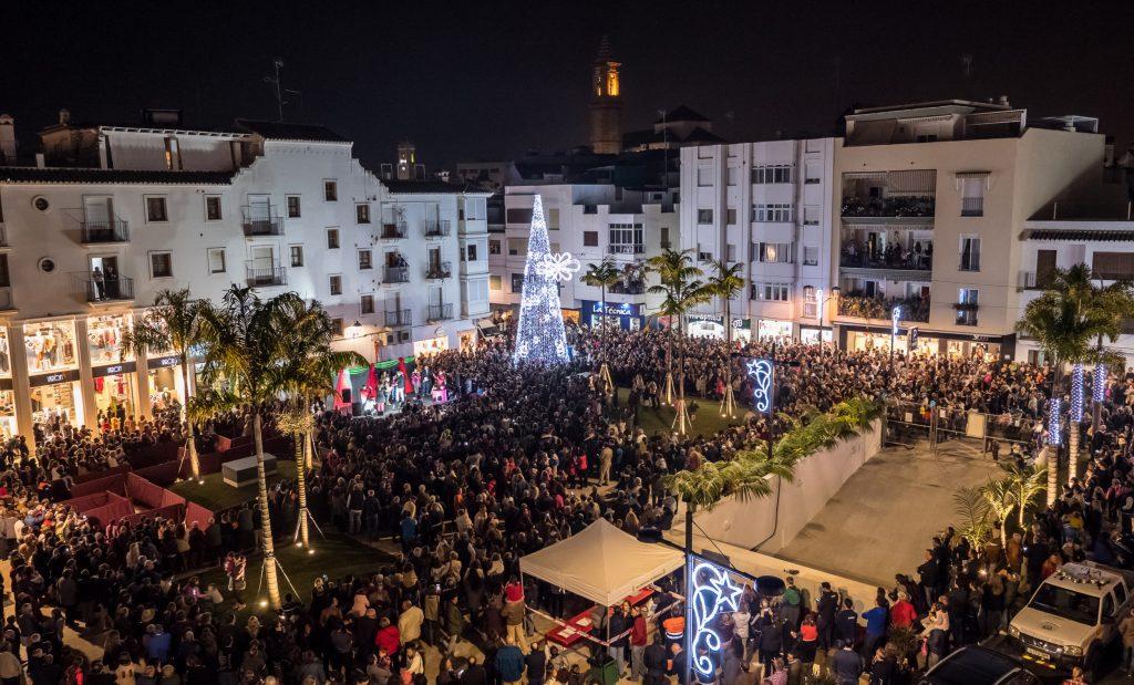 Estepona Weihnachtsbeleuchtung 2019