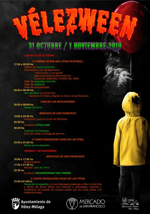 Halloween in Vélez-Málaga 2019