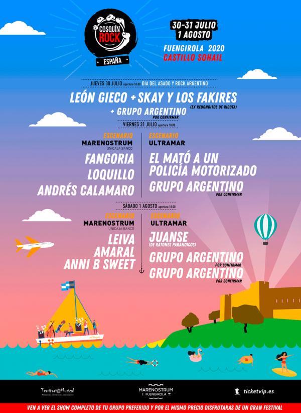 Cosquín Rock Fuengirola 2020