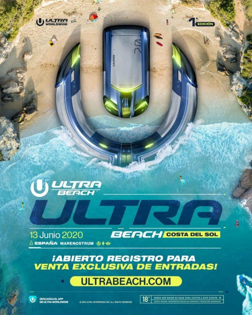 Ultra Beach Costa del Sol Fuengirola 2020 - Musik Festivals Costa del Sol