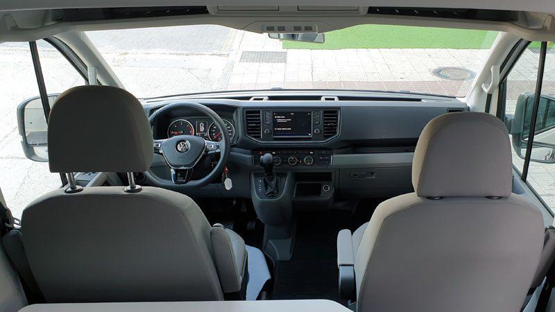 Kabine von VW Grand California 600