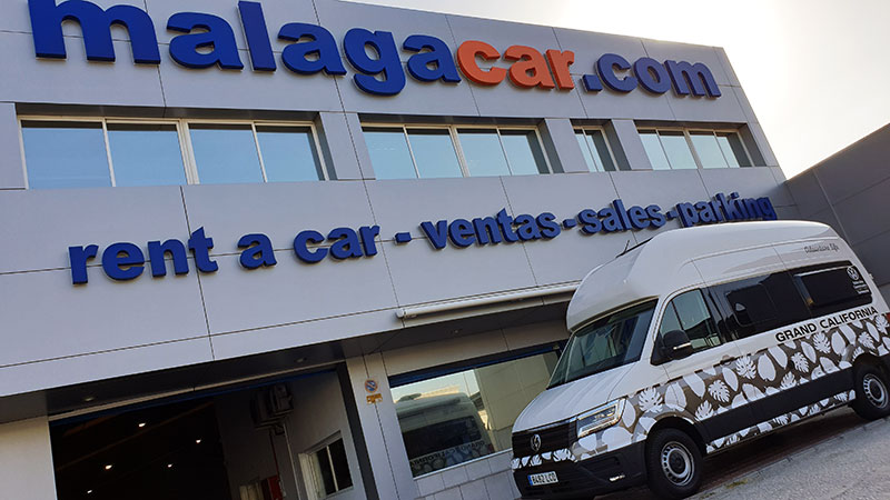 Wohnmobil VW Grand California 600 in Malagacar.com