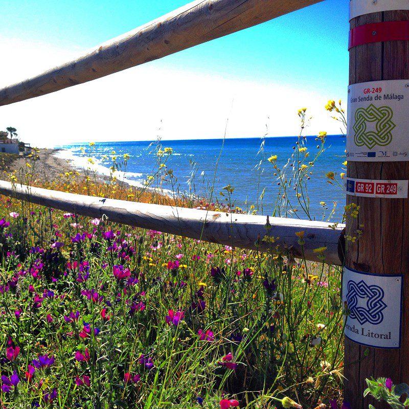 Küstenweg an der Costa del Sol