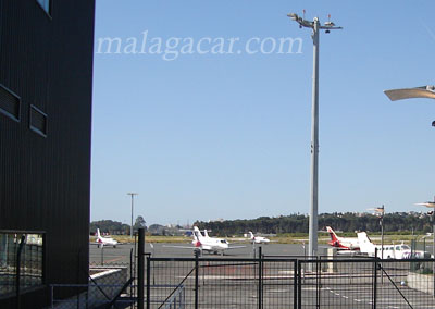 charter flights to Malaga airport