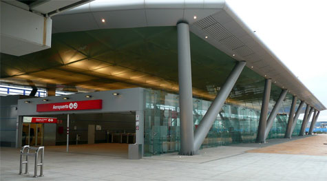 Malaga airport train station